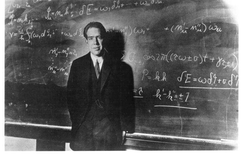 Bohr-Yale_1923