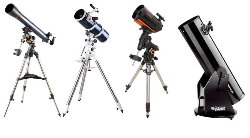 Tipos-de-telescópio