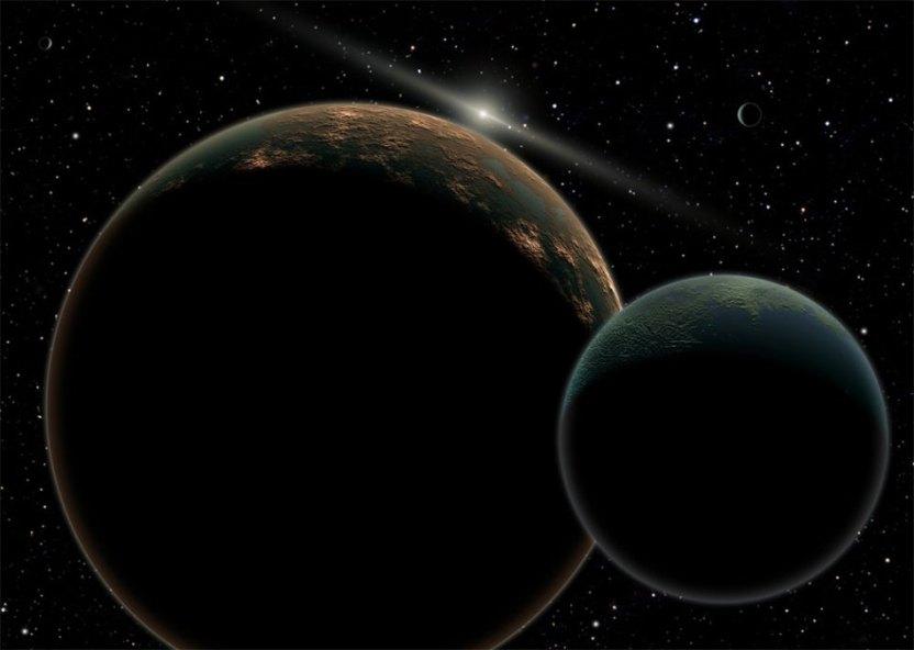 PLUTÃO(Membro do grupo dos  Planetas Anões)
