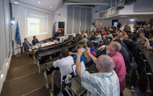 On 24 August 2016 at 13:00 CEST, ESO hosted a press conference at its Headquarters in Garching, near Munich, Germany.